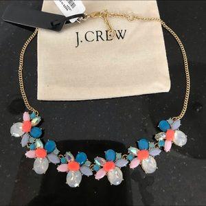 JCrew NWT Faux Gemstone 💎 Statement Necklace